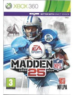 MADDEN NFL 25 voor Xbox 360