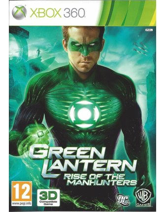 GREEN LANTERN RISE OF THE MANHUNTERS voor Xbox 360