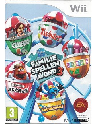 HASBRO FAMILIE SPELLEN AVOND 3 voor Nintendo Wii