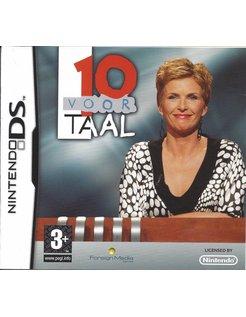 10 VOOR TAAL voor Nintendo DS