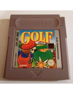 GOLF for Nintendo Game Boy
