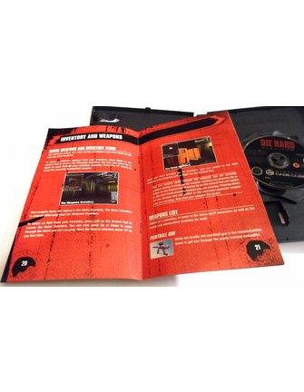 DIE HARD VENDETTA voor Nintendo Gamecube - met doos en handleiding