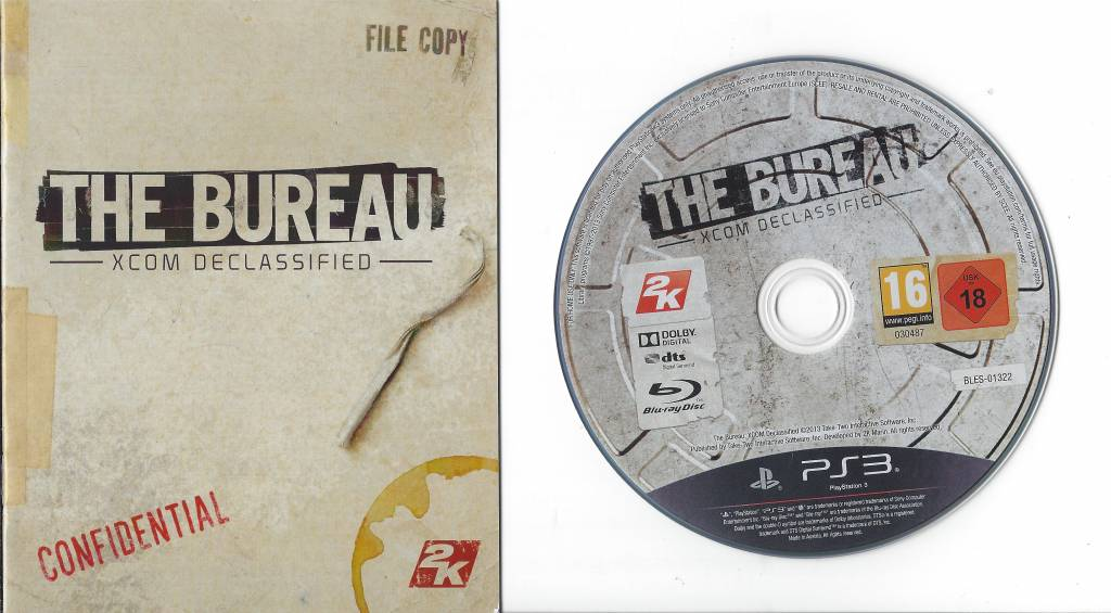 The bureau xcom declassified for playstation 3 ps3 passion for