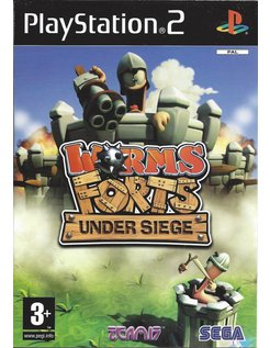 WORMS FORTS UNDER SIEGE voor Playstation 2 PS2
