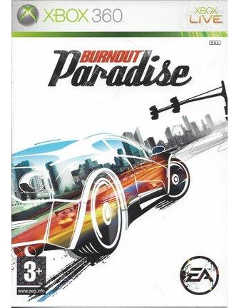 BURNOUT PARADISE voor Xbox 360