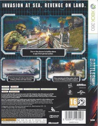 BATTLESHIP voor Xbox 360