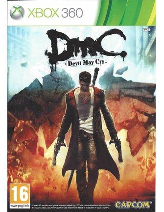 DMC DEVIL MAY CRY voor Xbox 360 - manual in het Engels
