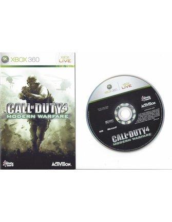 CALL OF DUTY 4 MODERN WARFARE voor Xbox 360