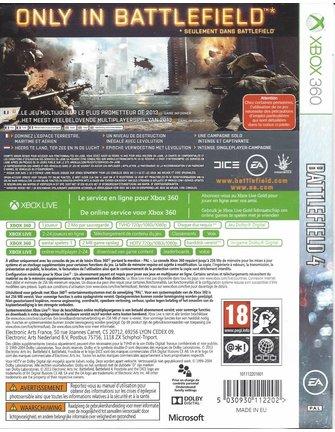 BATTLEFIELD 4 für Xbox 360