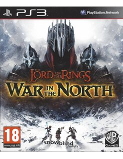 LORD OF THE RINGS WAR IN THE NORTH voor Playstation 3 PS3
