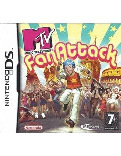 MTV FAN ATTACK voor Nintendo DS