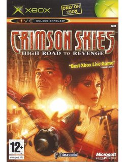 CRIMSON SKIES HIGH ROAD TO REVENGE for Xbox