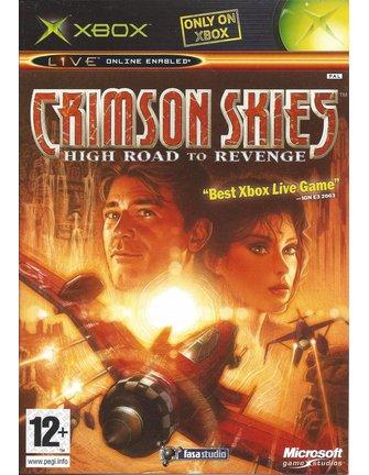 CRIMSON SKIES HIGH ROAD TO REVENGE voor Xbox