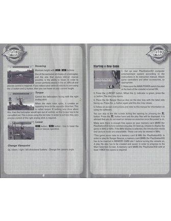 AIR RANGER RESCUE für Playstation 2 PS2