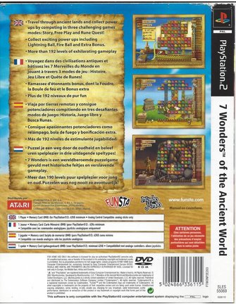 7 WONDERS OF THE ANCIENT WORLD voor Playstation 2 PS2