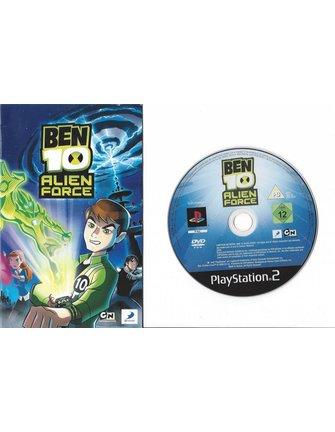 BEN 10 ALIEN FORCE for Playstation 2 PS2