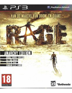 RAGE ANARCHY EDITION for Playstation 3 PS3