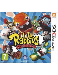 RABBIDS RUMBLE voor Nintendo 3DS