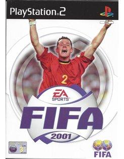 FIFA 2001 für Playstation 2 PS2 - Anleitung in Niederländisch
