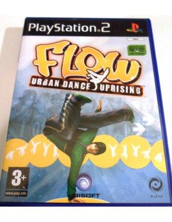 FLOW - URBAN DANCE UPRISING voor Playstation 2 PS2 - met doos en handleiding