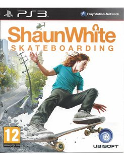 SHAUN WHITE SKATEBOARDING voor Playstation 3 PS3