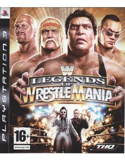 WWE LEGENDS OF WRESTLEMANIA for Playstation 3 PS3