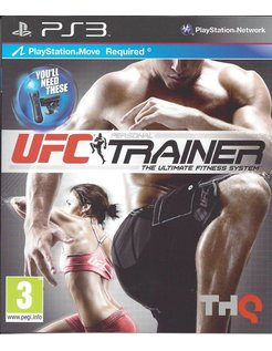 UFC PERSONAL TRAINER voor Playstation 3 PS3