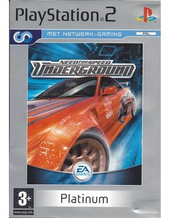NEED FOR SPEED UNDERGROUND voor Playstation 2 PS2