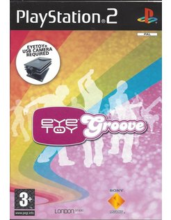 EYETOY GROOVE voor Playstation 2 PS2