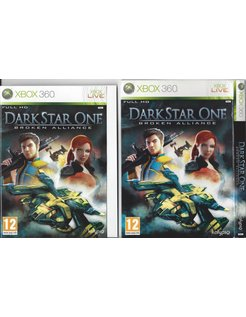 DARK STAR ONE BROKEN ALLIANCE for Xbox 360