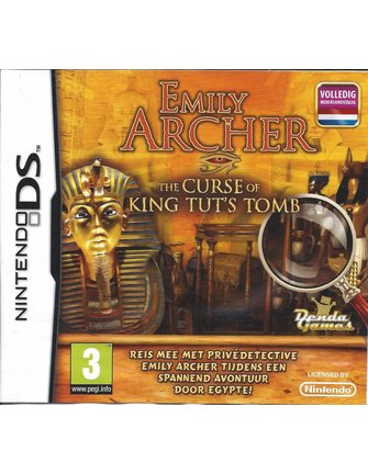 EMILY ARCHER THE CURSE OF KING TUT'S TOMB für Nintendo DS