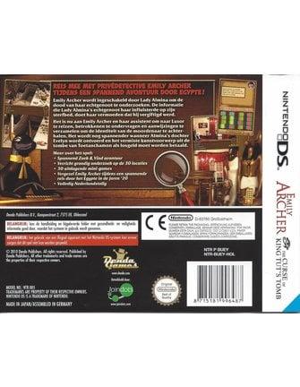 EMILY ARCHER THE CURSE OF KING TUT'S TOMB voor Nintendo DS