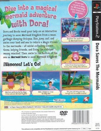 DORA SAVES THE MERMAIDS voor Playstation 2 PS2