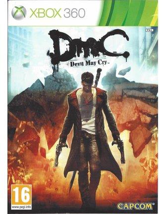 DMC DEVIL MAY CRY voor Xbox 360 - manual in het Nederlands