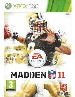 MADDEN NFL 11 for Xbox 360