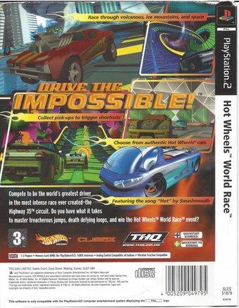 HOT WHEELS WORLD RACE für Playstation 2 PS2