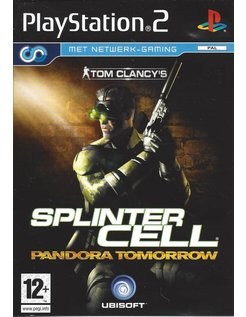 SPLINTER CELL PANDORA TOMORROW voor Playstation 2 PS2