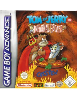TOM AND JERRY IN INFURNAL ESXAPE voor Game Boy Advance GBA
