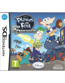 PHINEAS AND FERB ACROSS THE 2ND DIMENSION for Nintendo DS