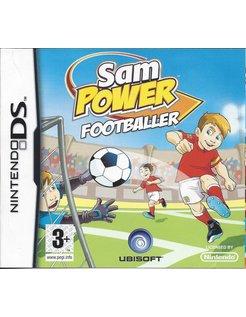 SAM POWER FOOTBALLER für Nintendo DS
