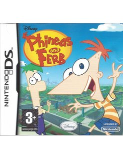 PHINEAS AND FERB for Nintendo DS