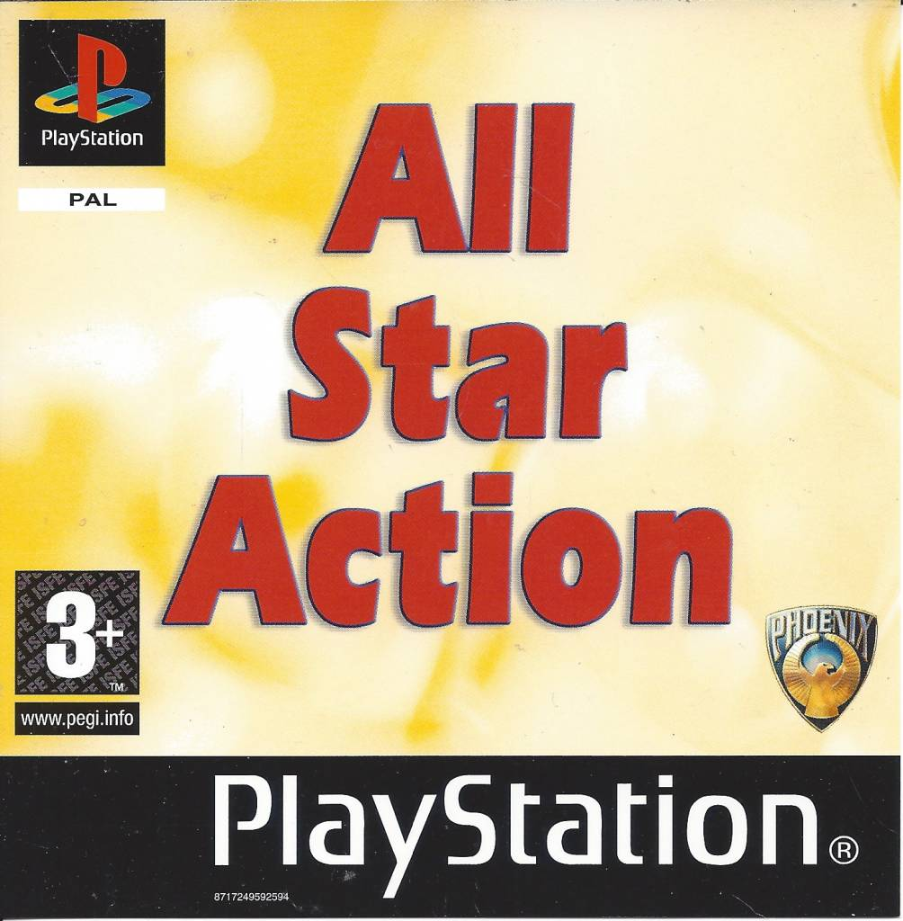 All Star Action For Playstation 1 Ps1 Passion For Games Webshop Passion For Games