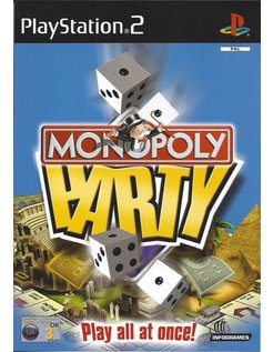 MONOPOLY PARTY für Playstation 2 PS2 - Anleitung in Englisch