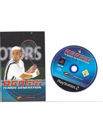AGASSI TENNIS GENERATION voor Playstation 2 PS2