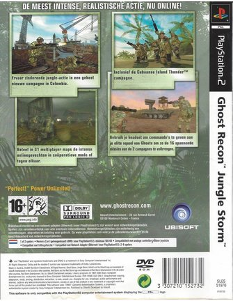 GHOST RECON JUNGLE STORM voor Playstation 2 PS2