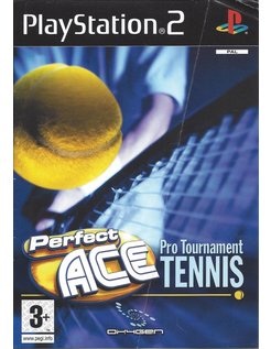 PERFECT ACE PRO TOURNAMENT TENNIS voor Playstation 2 PS2