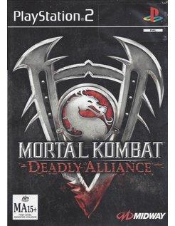 MORTAL KOMBAT DEADLY ALLIANCE für Playstation 2