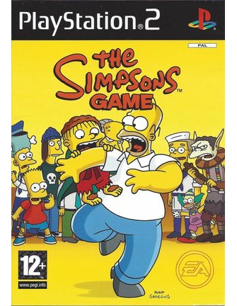 THE SIMPSONS GAME for Playstation 2 PS2
