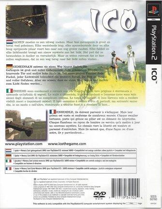 ICO voor Playstation 2 PS2