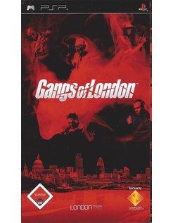 GANGS OF LONDON for PSP